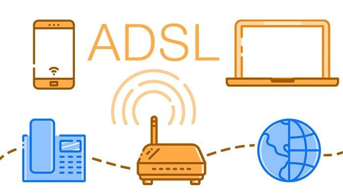 اینترنت +ADSL2