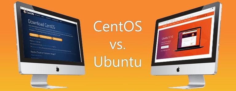 مهمترین تفاوت های CentOS و Ubuntu