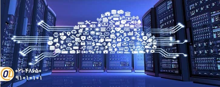 تجهیزات شبکه و دیتا سنتر در فضای ابری،سرور ابری یا سرویس ابری-min