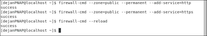 پیکربندی Firewall جهت انجام Traffic